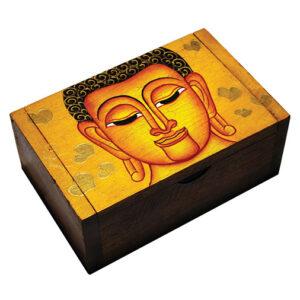 Hand Painted Buddha Box
