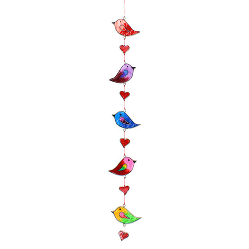Five Bird Suncatcher