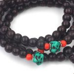 Meditation Mallah Beads with Turquoise 2