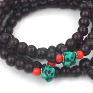 Meditation Mallah Beads with Turquoise