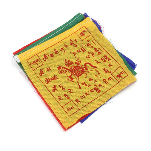 Mini Tibetan Prayer Flags on Magnets