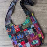 Embroidered Patchwork Shoulder Bag 2