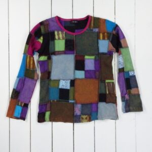 Long Sleeved Patchwork Top