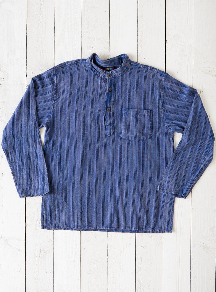 Gringo Stonewash Kurta Shirts