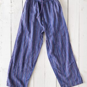 Gringo Stonewash Striped Trousers