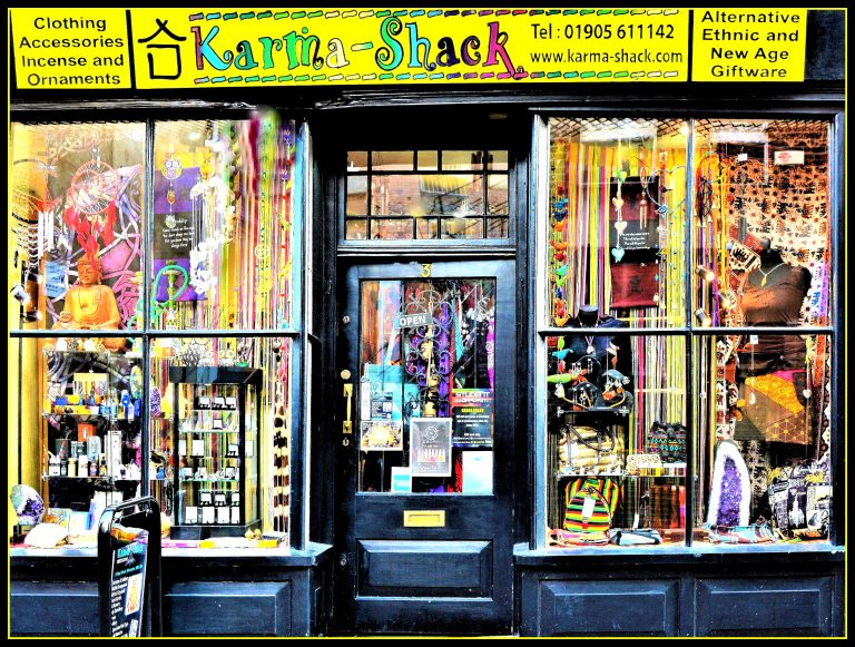 Karma Shack Worcester Shop Front