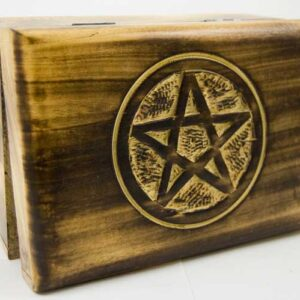 Jewellery and tarot card boxes